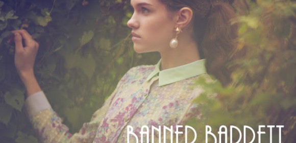 Dasha S is so cute at Banner Barrett S/S 2013