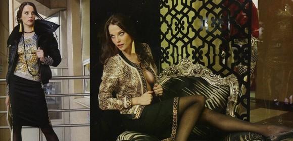 Жанна Винс в рекламе бренда GIZIA